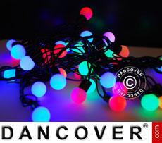 LED Fairy lights, blinking, 10 m, Multi coloured