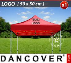 1 pc. FleXtents roof cover print 50x50 cm