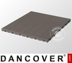 Plastic flooring Basic, Piastrella, Grey, 40.32 m²
