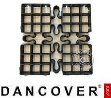 Outdoor floor tiles GRID 1 m² (4 pc.)
