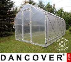 Polytunnel Greenhouse SEMI PRO Plus 2x5x2 m