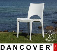 Chair, Paris, White, 6 pcs.