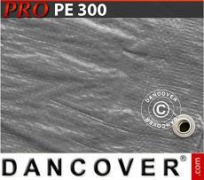 Tarpaulin 6x14m PE 300 g/m² Grey