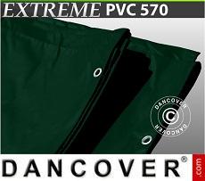 Tarpaulin 8x10 m PVC 570 g/m² Green