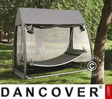 Hammock, Hanging w/Mosquito Net, Dark Grey