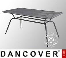 Garden table, Conello, 90x160x74cm, Iron Grey