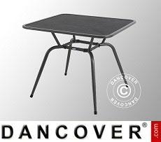 Garden table, Conello, 90x90x74cm, Iron Grey