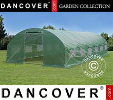 Polytunnel Greenhouse 4x8x2 m, Green