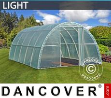 Polytunnel Greenhouse Light 3x6x1,9 m, Transparent