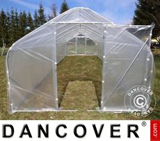 Polytunnel Greenhouse SEMI PRO 3x6.25x2.15 m