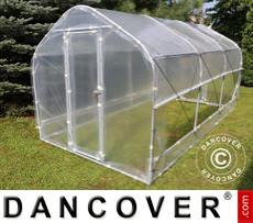 Polytunnel Greenhouse SEMI PRO Plus 3x3.75x2.15 m