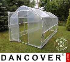 Polytunnel Greenhouse SEMI PRO Plus 4x6.25x2.40 m