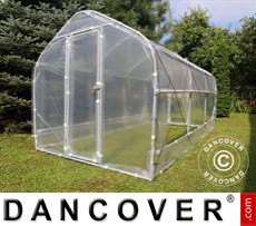 Polytunnel Greenhouse SEMI PRO Plus 3x6.25x2.15 m