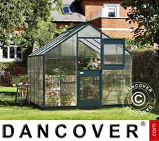 Greenhouse Polycarbonate Juliana Junior 8.3m², 2.77x2.98x2.57 m, Anthracite