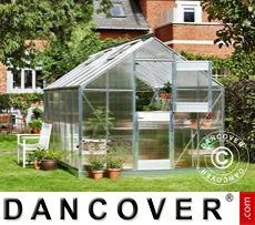 Greenhouse Polycarbonate Juliana Junior 12.1m², 2.77x4.41x2.57 m, Aluminium