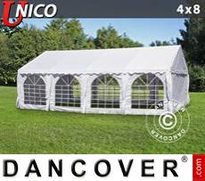 Marquee UNICO 4x8 m, White