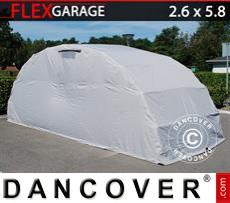 Folding garage (Car), 2.6x5.8x2.1 m, Grey