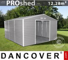 Garden shed 3.4x3.82x2.05 m ProShed, Grey/Brown