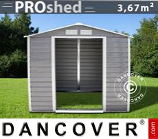 Garden shed 2.13x1.91x1.90 m ProShed, Grey/Brown