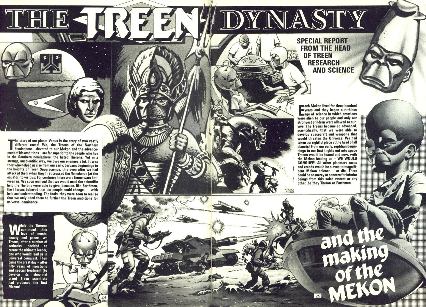 The Treen Dynasty - Pages 1 and 2 of 4