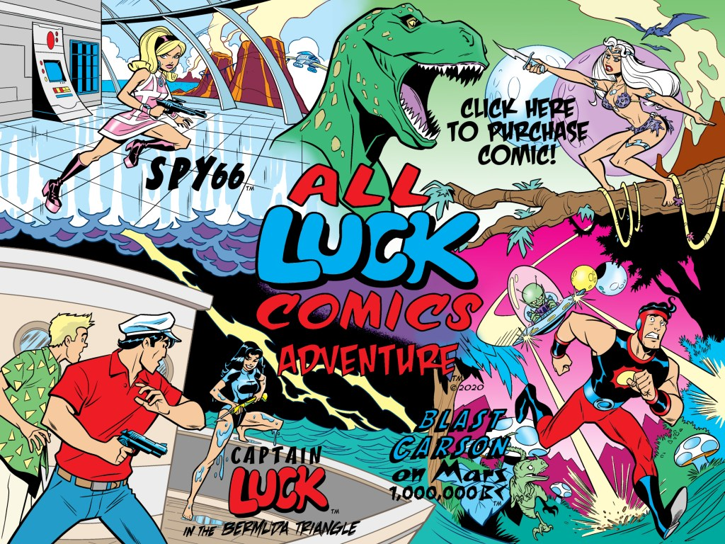 All Luck Comics #1 Promo