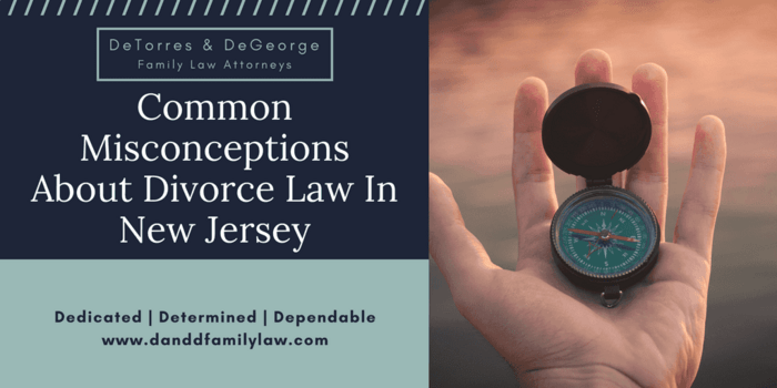 Common Misconceptions About Divorce Law In New Jersey