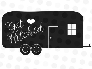 Get Hitched Decal