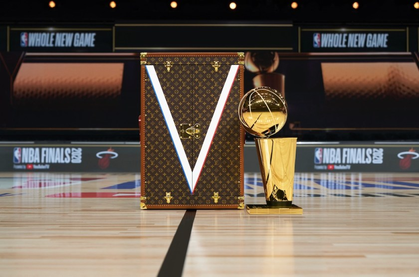 the best of the 2021 LV x NBA bags, shoes and apparel