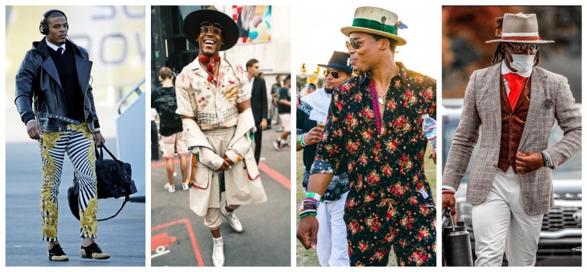 The best-dressed NFL football players with the most fashion and style off the field right now
