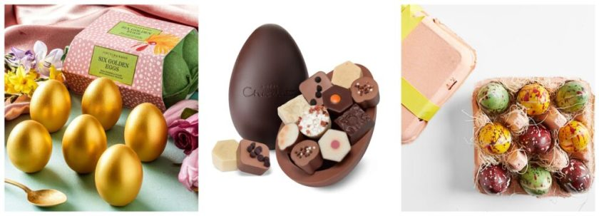 best gourmet Easter desserts, including chocolates, candy and eggs