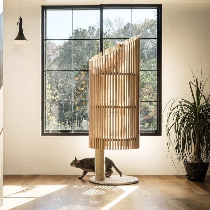 best expensive designer cat trees, cat towers, scratching posts and other cat furniture for every kind of luxury home décor