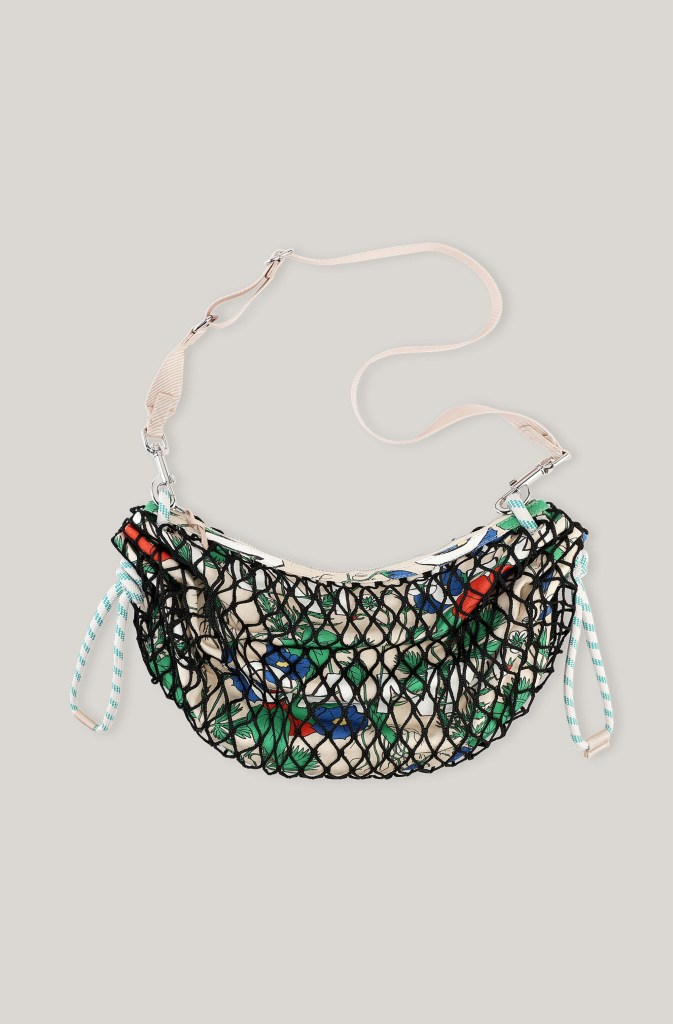 The best on trend fashion luxury designer fishnet bags, including totes, crossbody and clutches, for summer 2021