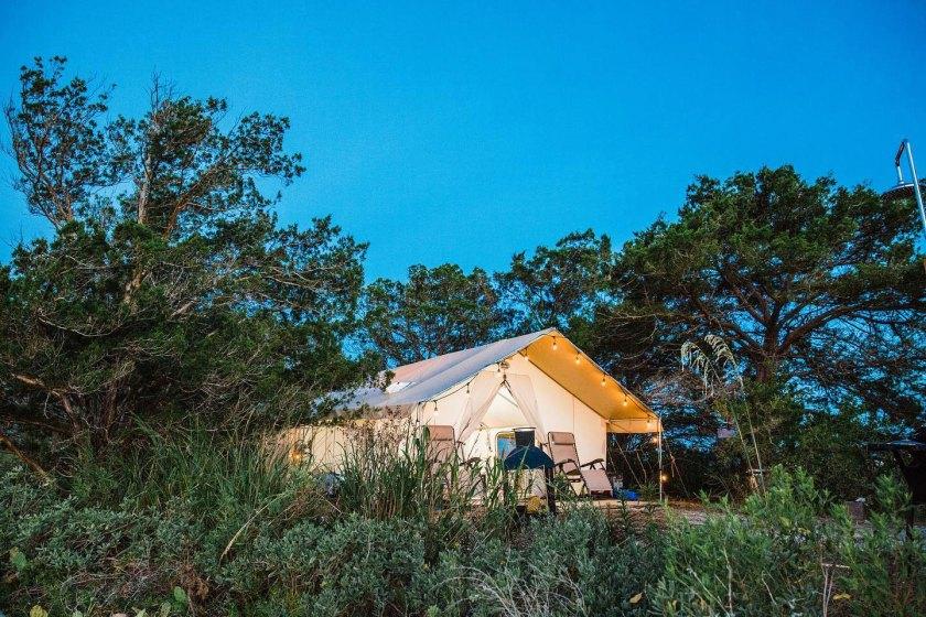 luxury camp sites