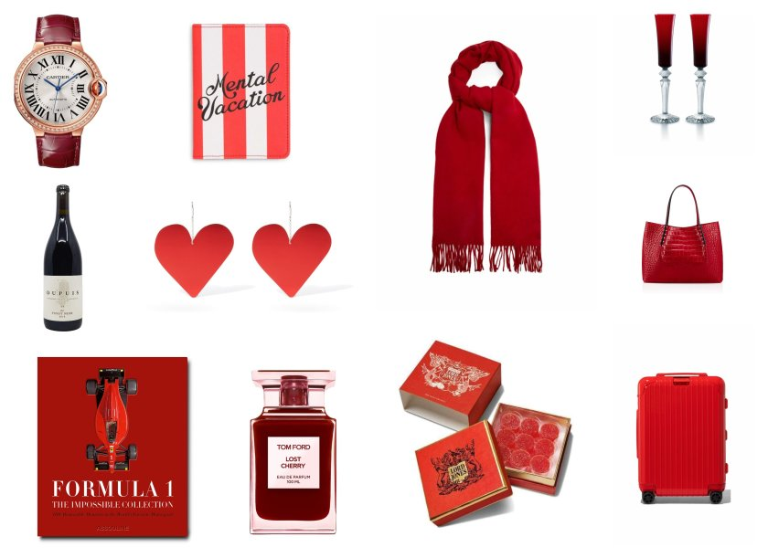 Our 2021 luxury Christmas and holiday gift guide of the best gifts in every favorite shade of the color red