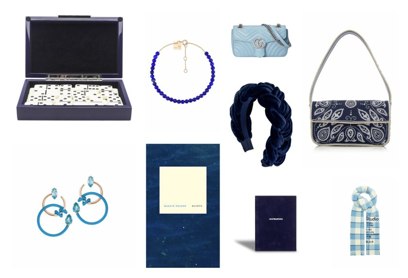 Our 2021 luxury Christmas and holiday gift guide of the best gifts in every favorite shade of the color blue