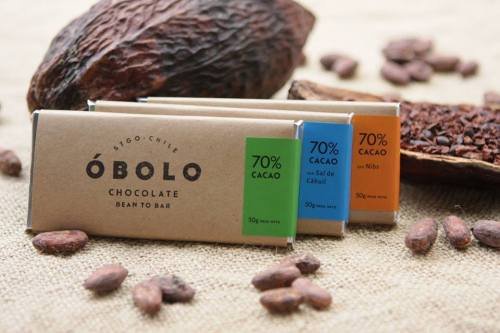 OBOLO chocolate bars