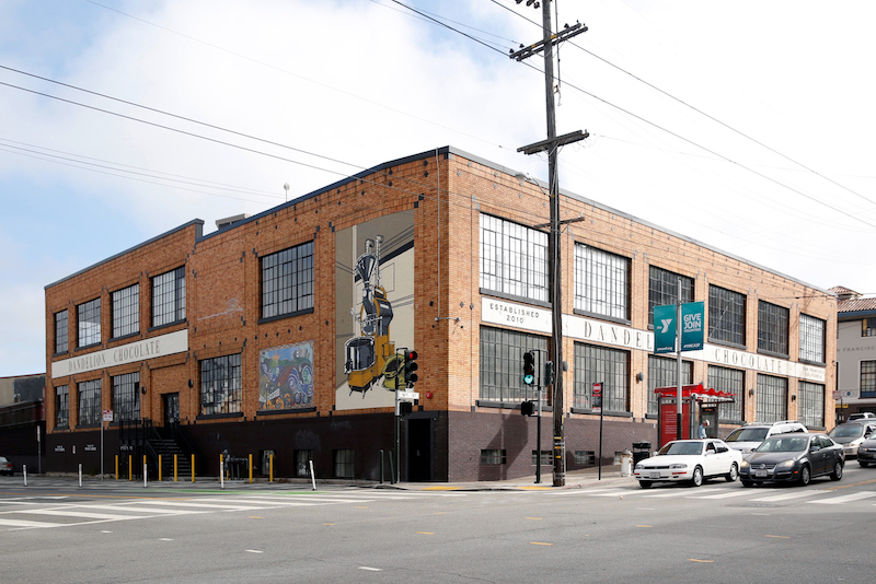 exterior of the 16th Street Factory