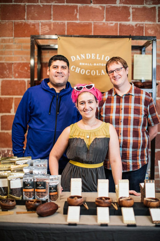 Selling small-batch chocolate