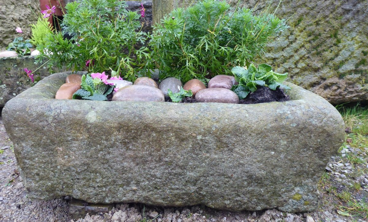 Old York Stone Trough