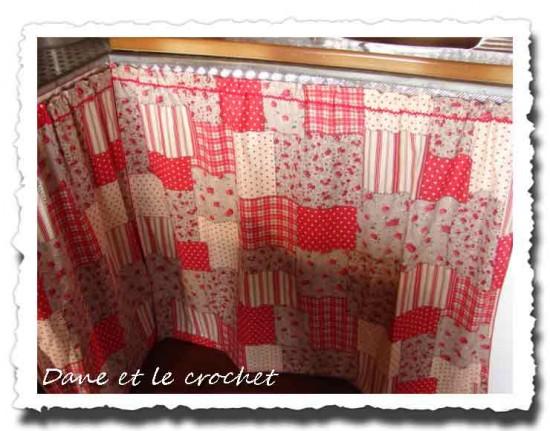 rideaux sous evier dane et le crochet