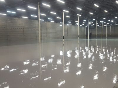 Warehouse storage area flooring