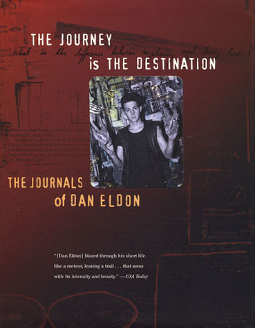 The Journey Is the Destination Book Jacket.