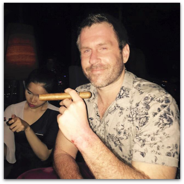 Mike Cernovich cigars