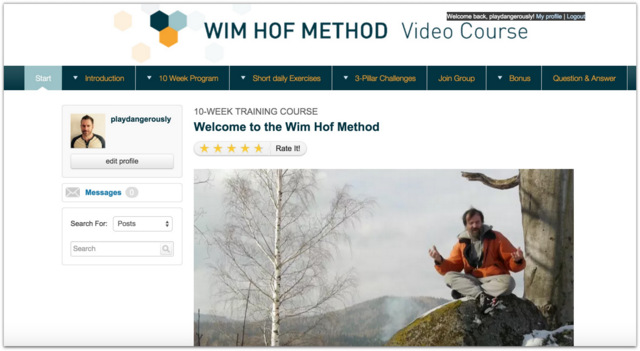 Wim Hof Method Video Course Review.27 AM