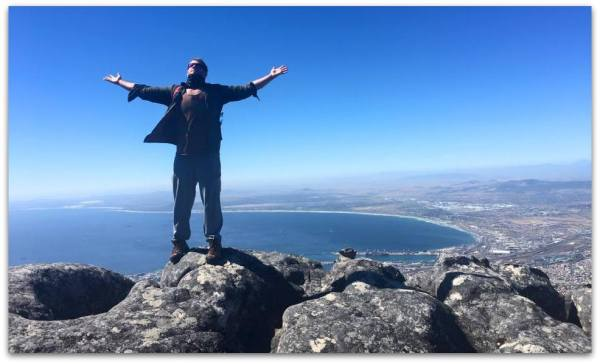 Mike Cernovich Table Mountain South Africa