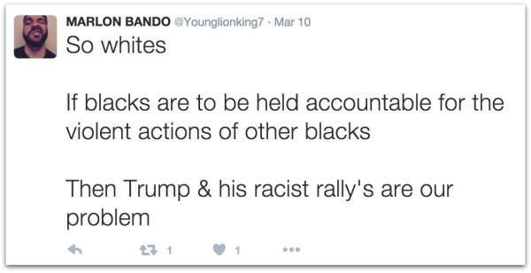Thomas Dimassimo on Trump supporters.45 PM