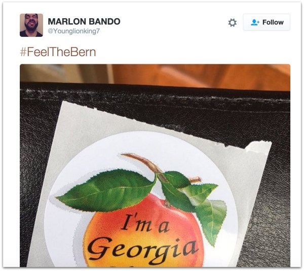 Tommy Dimassimo Bernie Sanders supporter.38 PM