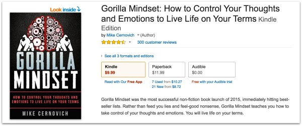 Gorilla Mindset 300 reviews.39 PM
