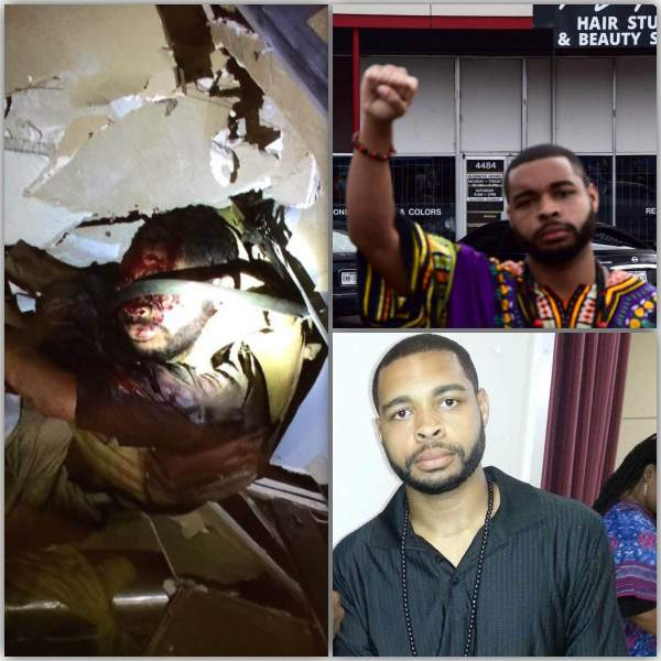 Micah Johnson Dallas shooting bomb aftermath