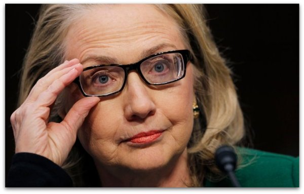 Hillary Clinton glasses